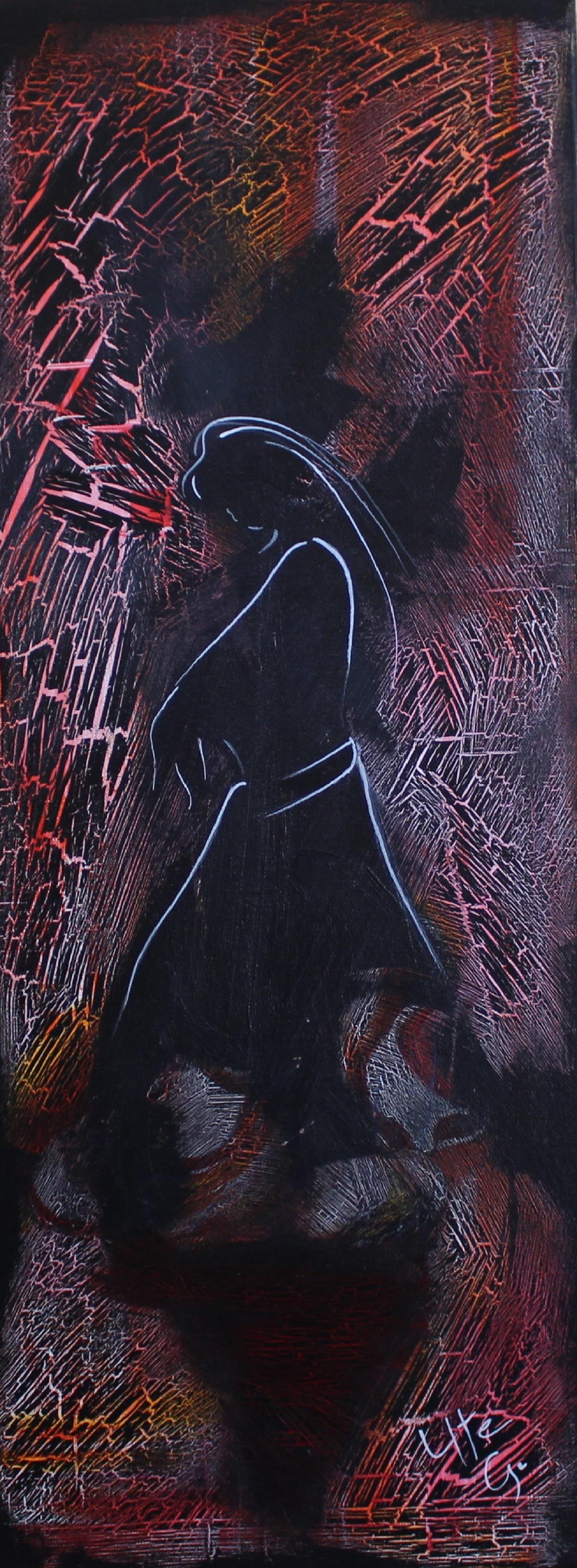 103 Im Schatten 80 x 30 schmaler Rahmen